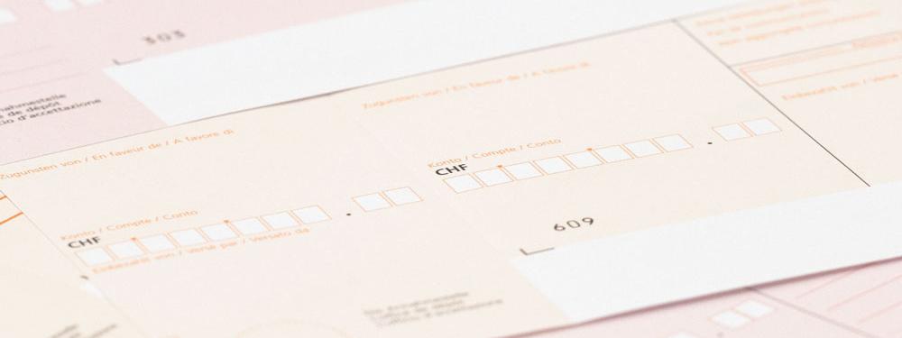 Was Sie über den Einzahlungsschein wissen sollten