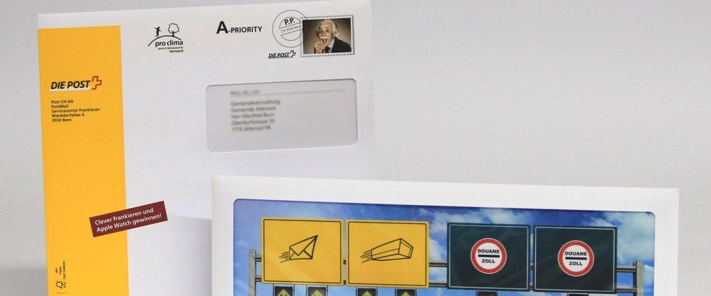 Mailing – Kuverts im Sonderformat fallen auf